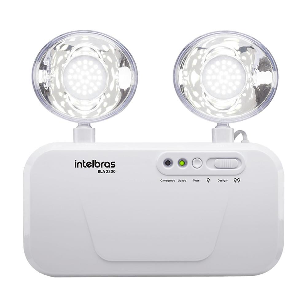 Bloco de Iluminação Autônoma de Emergência 2200 Lumens BLA 2200 - Intelbras