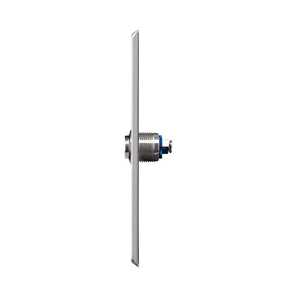 Botão Acionador Inox Embutir Para Abertura de Portas BT 5000 IN Intelbras