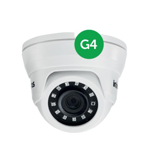 Câmera AHD 1 Mega ou Analógica 3.6mm 10m VMD 1010 IR G4 Intelbras