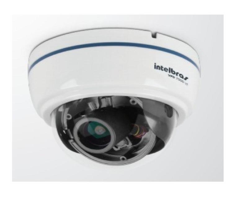 Câmera De Segurança Dome Infra 700 Tvl Vpd 7000 Vf Intelbras