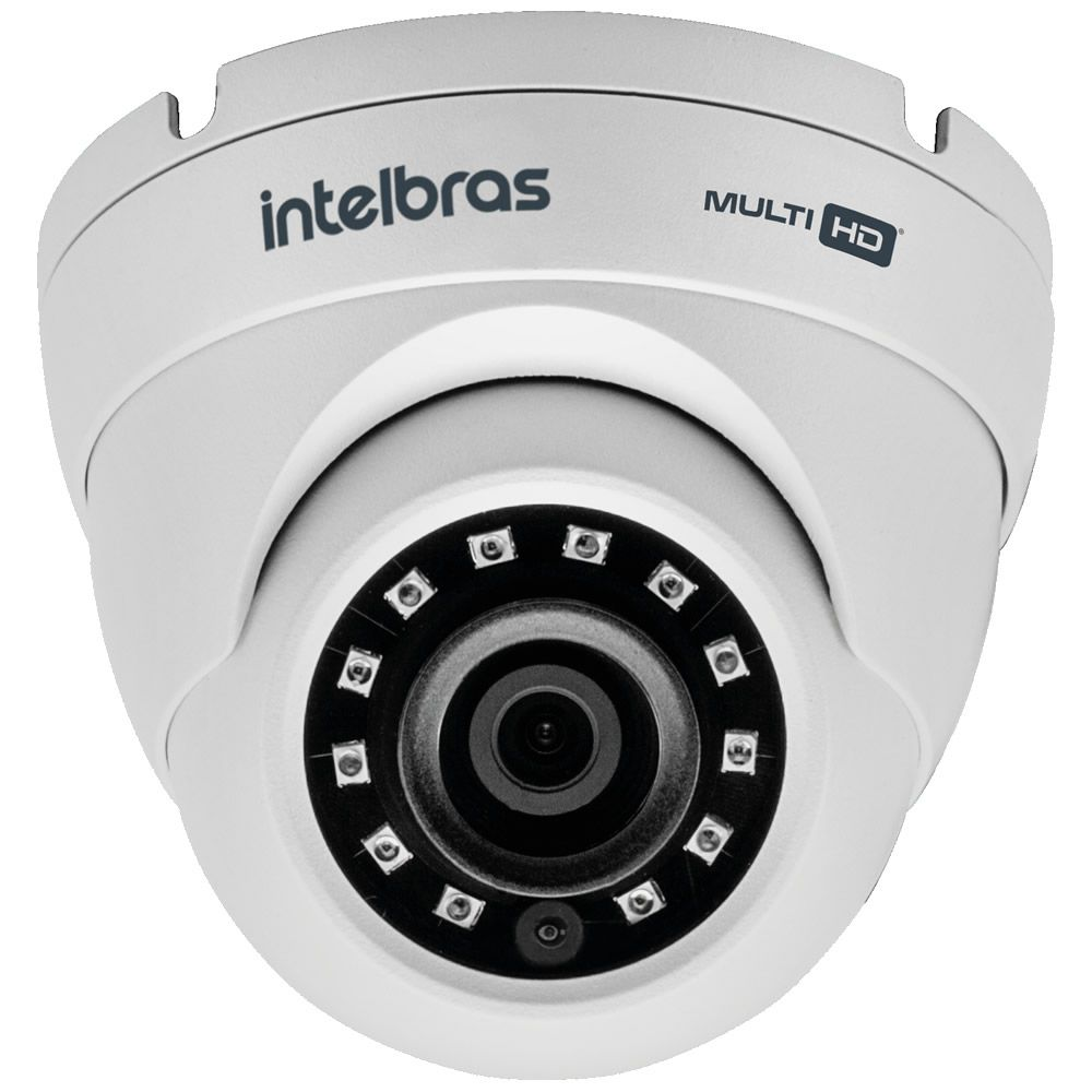 Câmera HDCVI 4 Megapixels 2.8mm 20m VHD 3420 D G4 Intelbras
