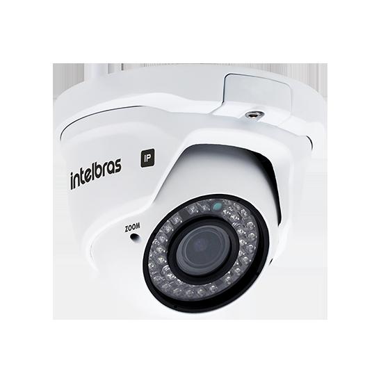 Câmera IP 1 Megapixel Varifocal 2.8 a 12mm 30m VIP 1130 D VF G2 Intelbras