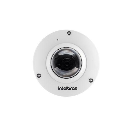 Câmera Ip Fisheye 5 Megas  Micro SD IP 67 VIP 5500 F Intelbras