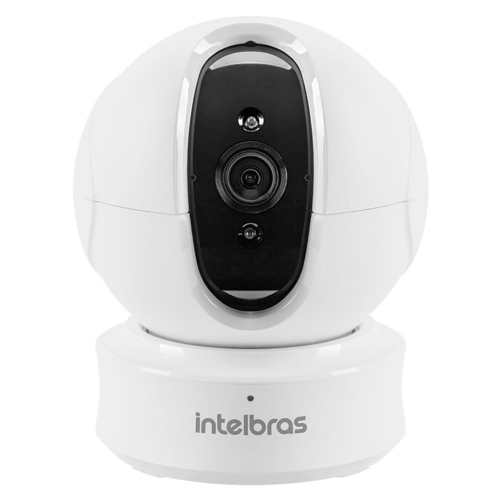Câmera IP HD Sem Fio Wi-Fi Visão 360° IR 10m Mibo iC4 Intelbras