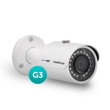 Câmera Multi HD 600 Linhas 3.6mm 30m VHD 3230 B G3 Intelbras