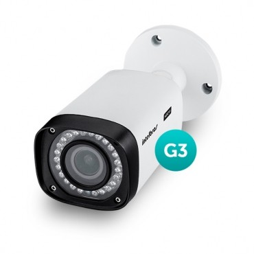 Câmera Multi HD 2,7mm a 12mm AHD IR 40m VHD 3140 VF G3 Intelbras