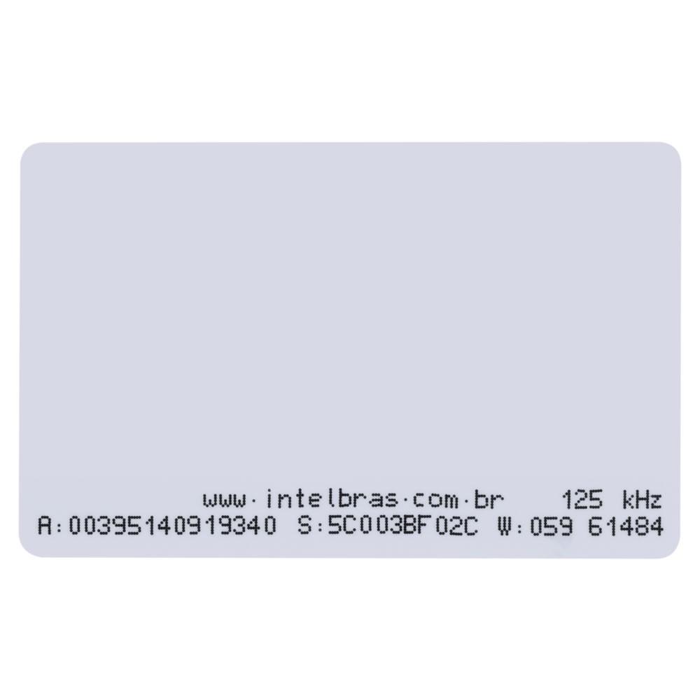 Cartão De Acesso Crachá RFID 125 Khz TH 2000 Intelbras