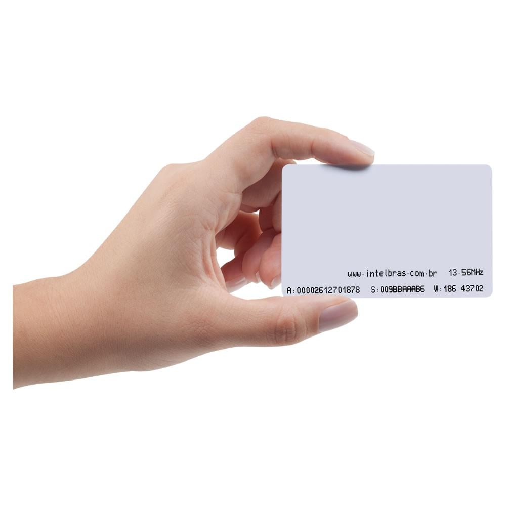 Cartão De Acesso Crachá RFID 13,56 MHz TH 2000 MF Intelbras