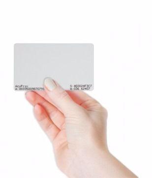 Cartão De Acesso RFID Mifare 1K 13,56 MHz TH 161L - Automatiza