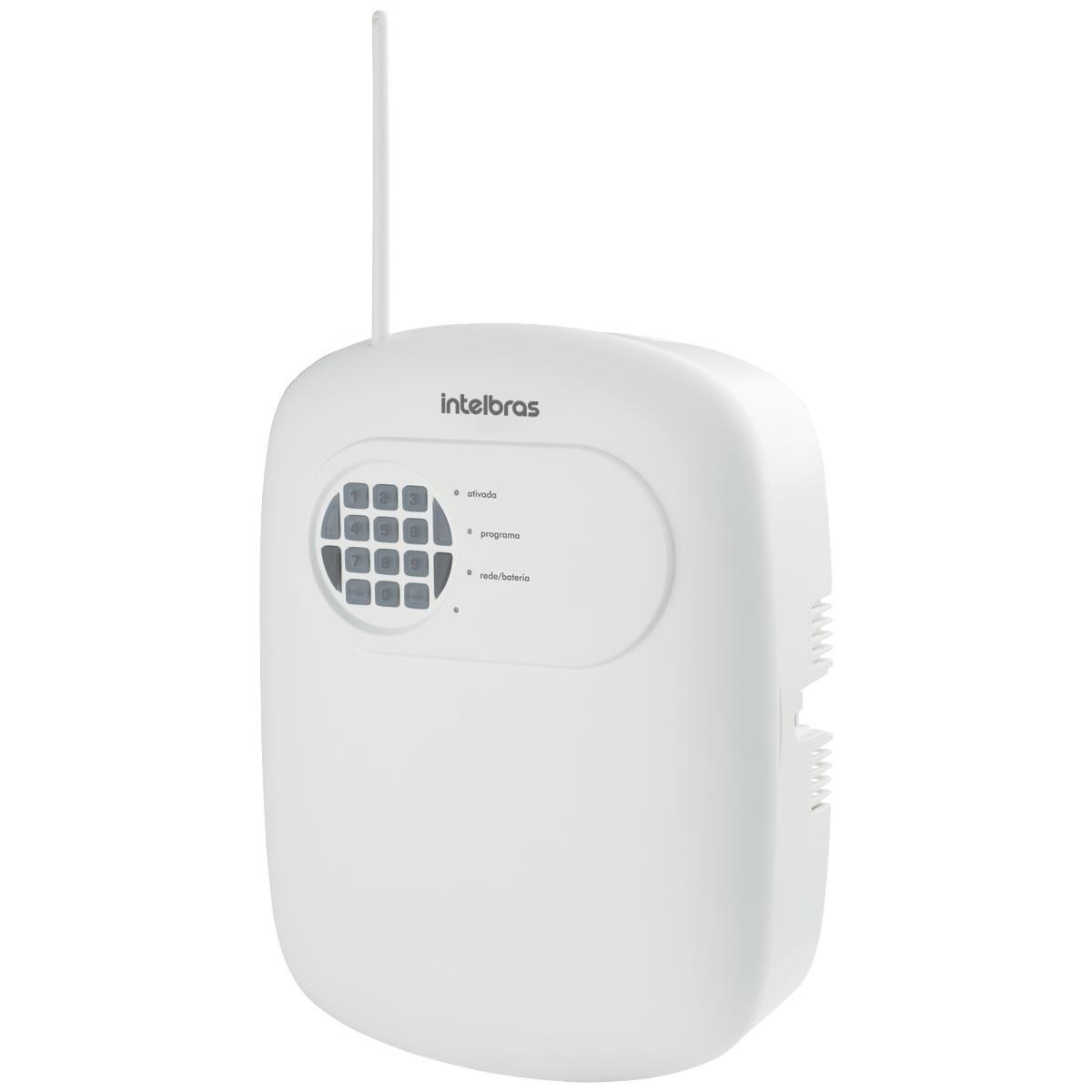 Central Alarme Não Monitorada 4 Zonas ANM 2004 MF Intelbras
