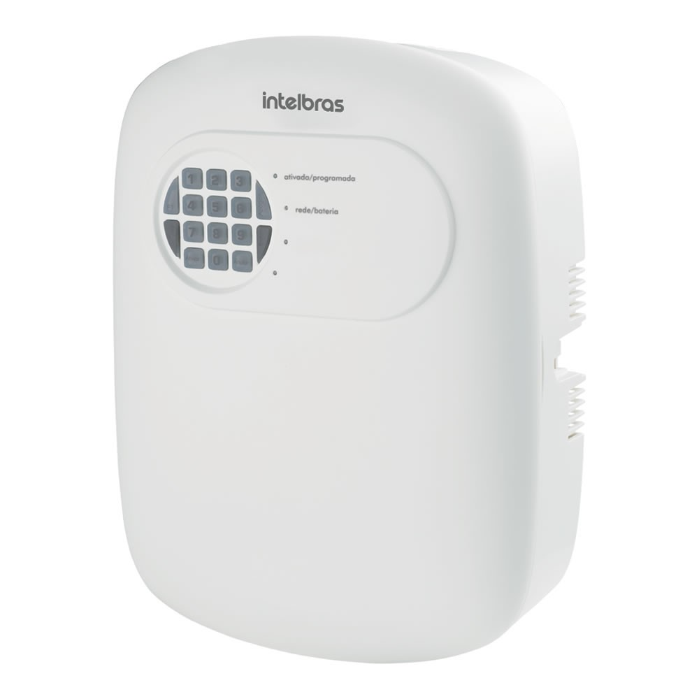 Central Alarme Não Monitorado 4 Zonas Anm 3004 ST Intelbras