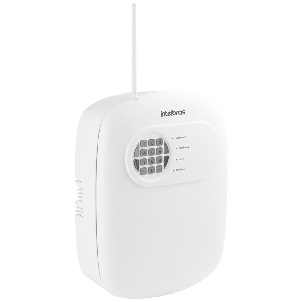 Central De Alarme Monitorada 8 Zonas AMT 2008 RF - Intelbras