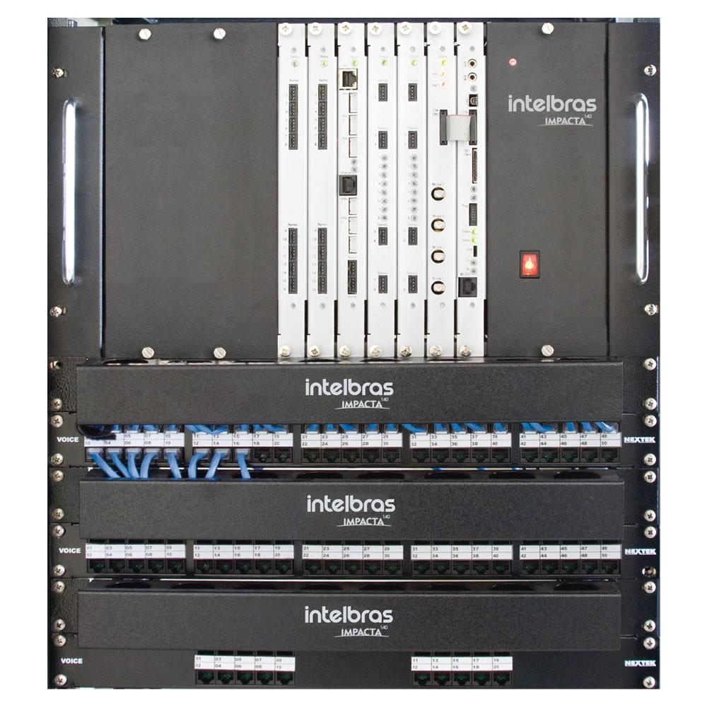 Central Telefônica Pabx Impacta 140 Intelbras (Sem Placas)