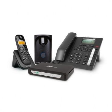 Central Telefônica Sem Fio 2 Linhas e 7 Ramais MiniCom Plus Intelbras