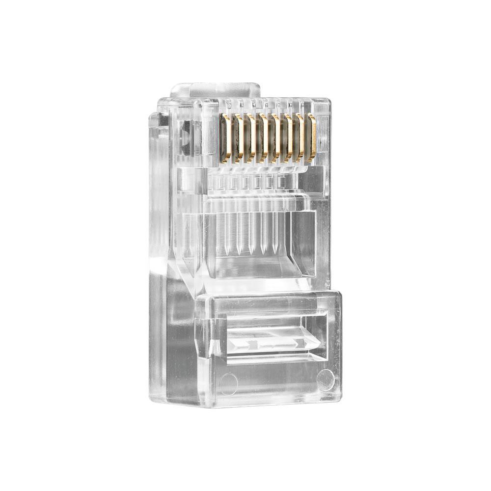 Conector RJ45 CAT 5E (Pcte 50pçs) CONEX 1000 Intelbras