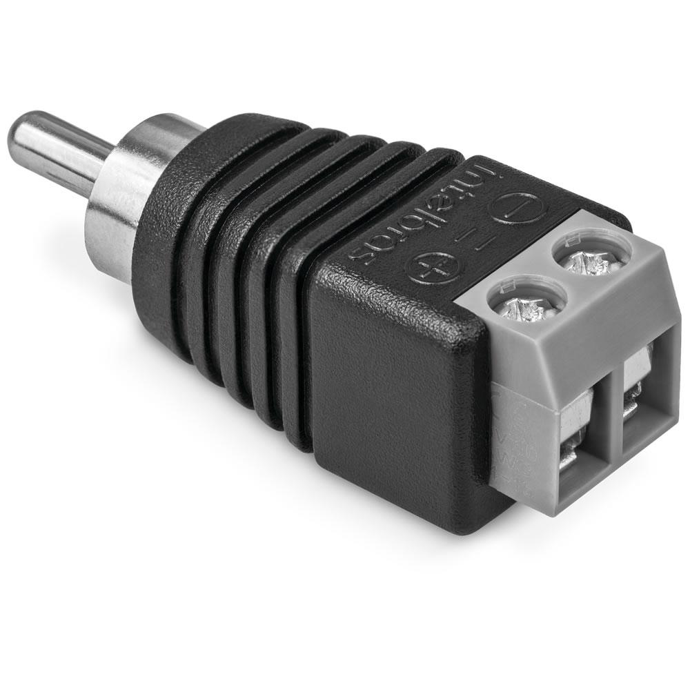 Conector RCA Borne Macho (Pcte 50pçs) CONEX 1000 Intelbras