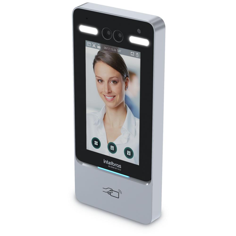 Controlador de Acesso Com Reconhecimento Facial SS 5530 MF FACE Intelbras