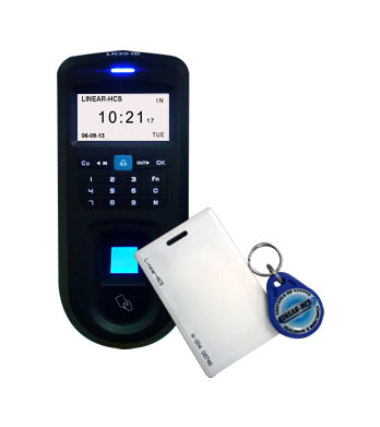 Controle De Acesso Biométrico E Cartão Rfid LN-30 ID - Linear