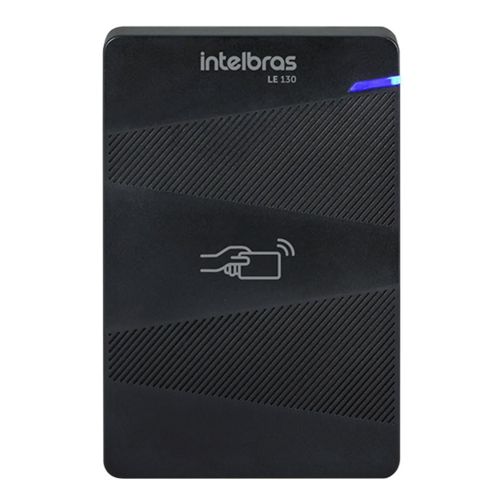 Controle de Acesso Leitor de Cartão 125kHz LE 130 Intelbras
