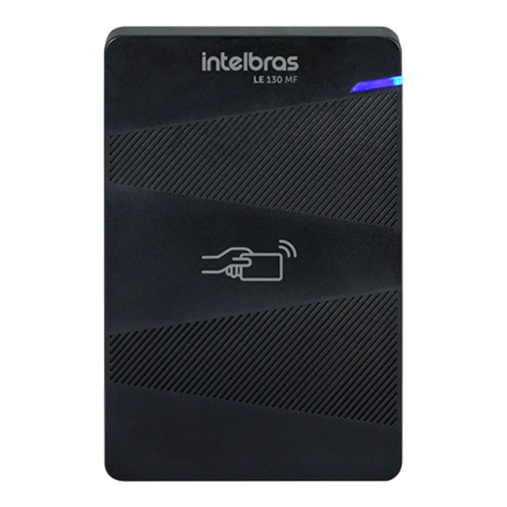 Controle de Acesso Leitor de Cartão 13,56MHz LE 130 MF Intelbras