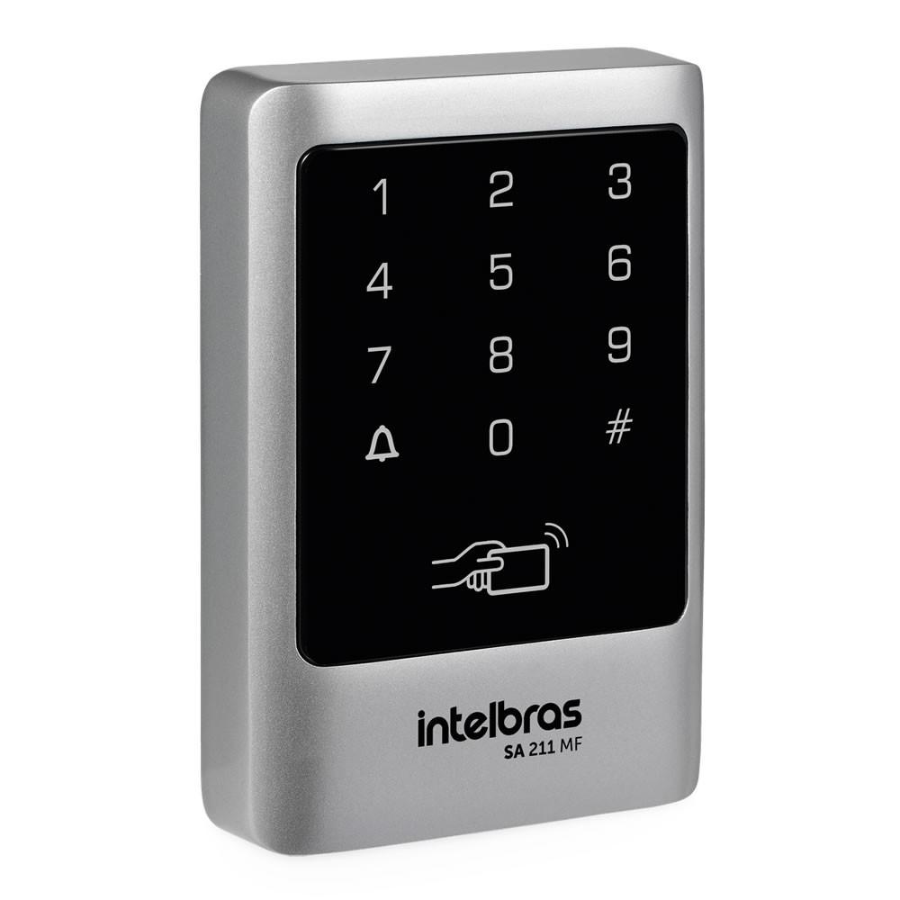 Controle de Acesso Senha Cartão 13,56MHz SA 211 MF Intelbras
