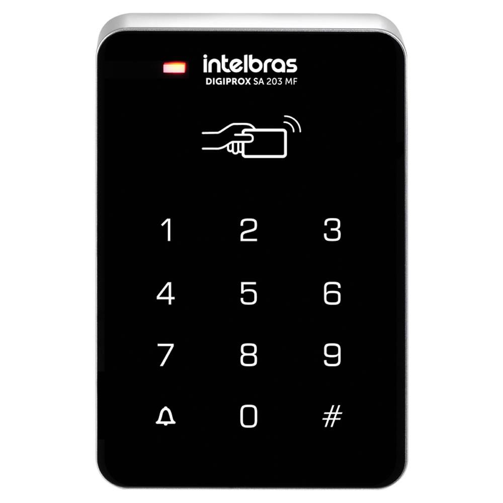 Controle de Acesso Senha e Cartão Digiprox SA 203 MF Intelbras