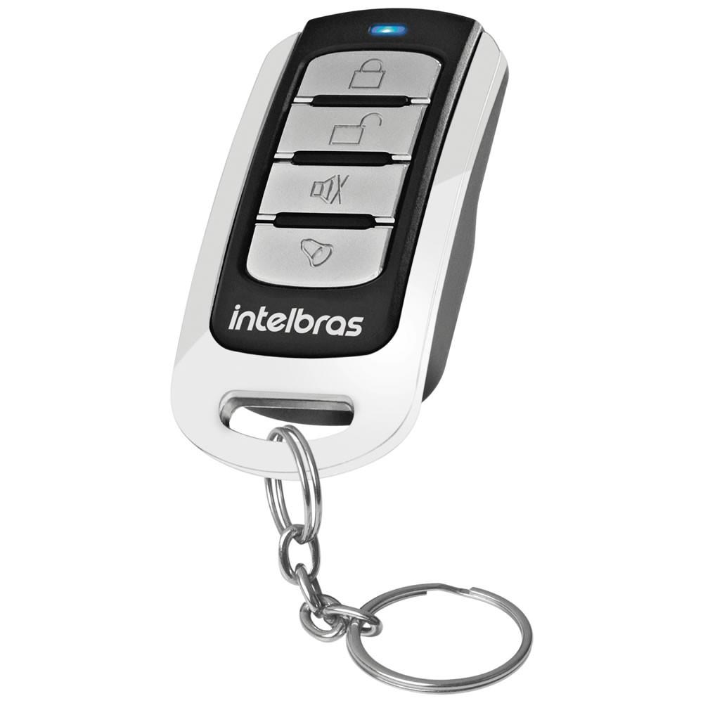 Controle Remoto Cromado Para Alarme e Portão XAC 3000 4K - Intelbras