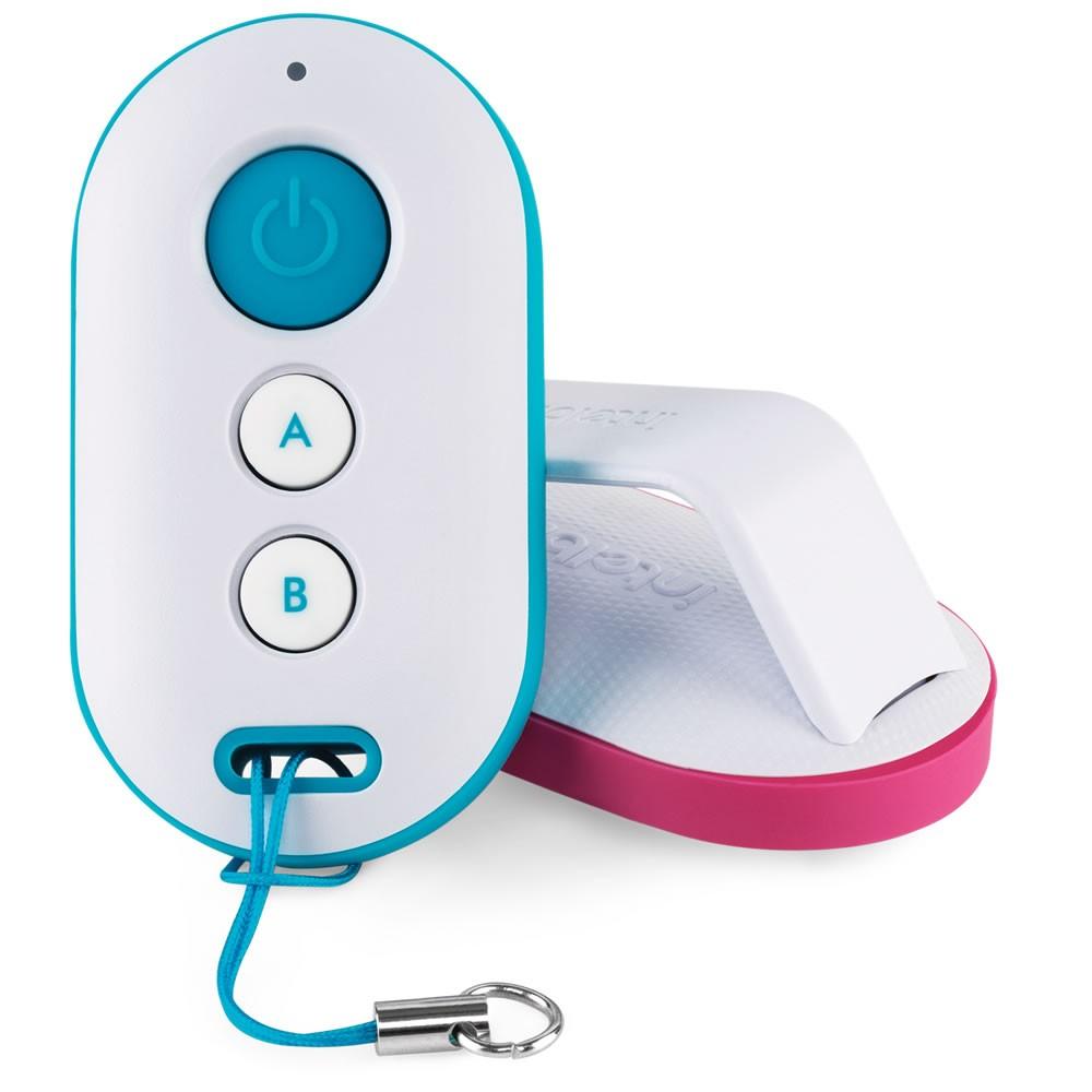 Controle Remoto Para Alarme e Portão Rosa XAC 4000 Smart - Intelbras