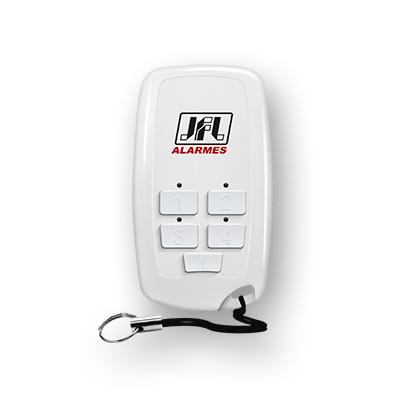 Controle Remoto Slim Para Centrais de Alarme TX5 DUO FIT JFL