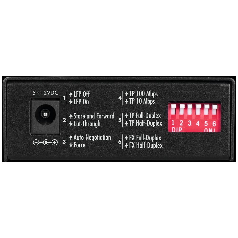 Conversor De Mídia Fast Monomodo 20 Km Intelbras KFSD 1120 B