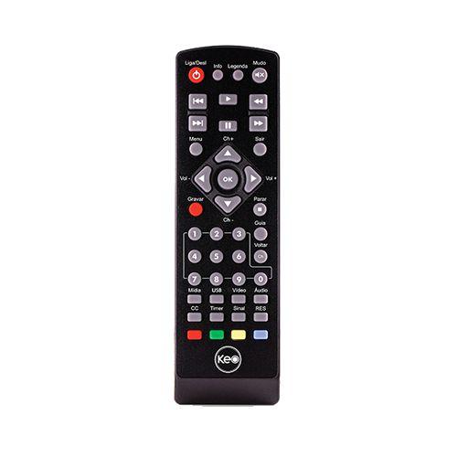 Conversor Digital De TV com Gravador HDMI USB RCA - K900 Keo