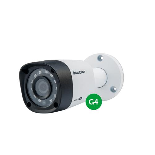 Câmera Multi HD 600 Linhas 3.6mm 10m VHD 1010 B G4 Intelbras