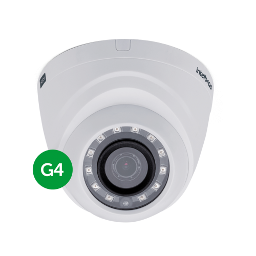 Câmera Multi HD HDTVI 1 Mega 3.6mm 10m VHD 1010 D G4 Intelbras
