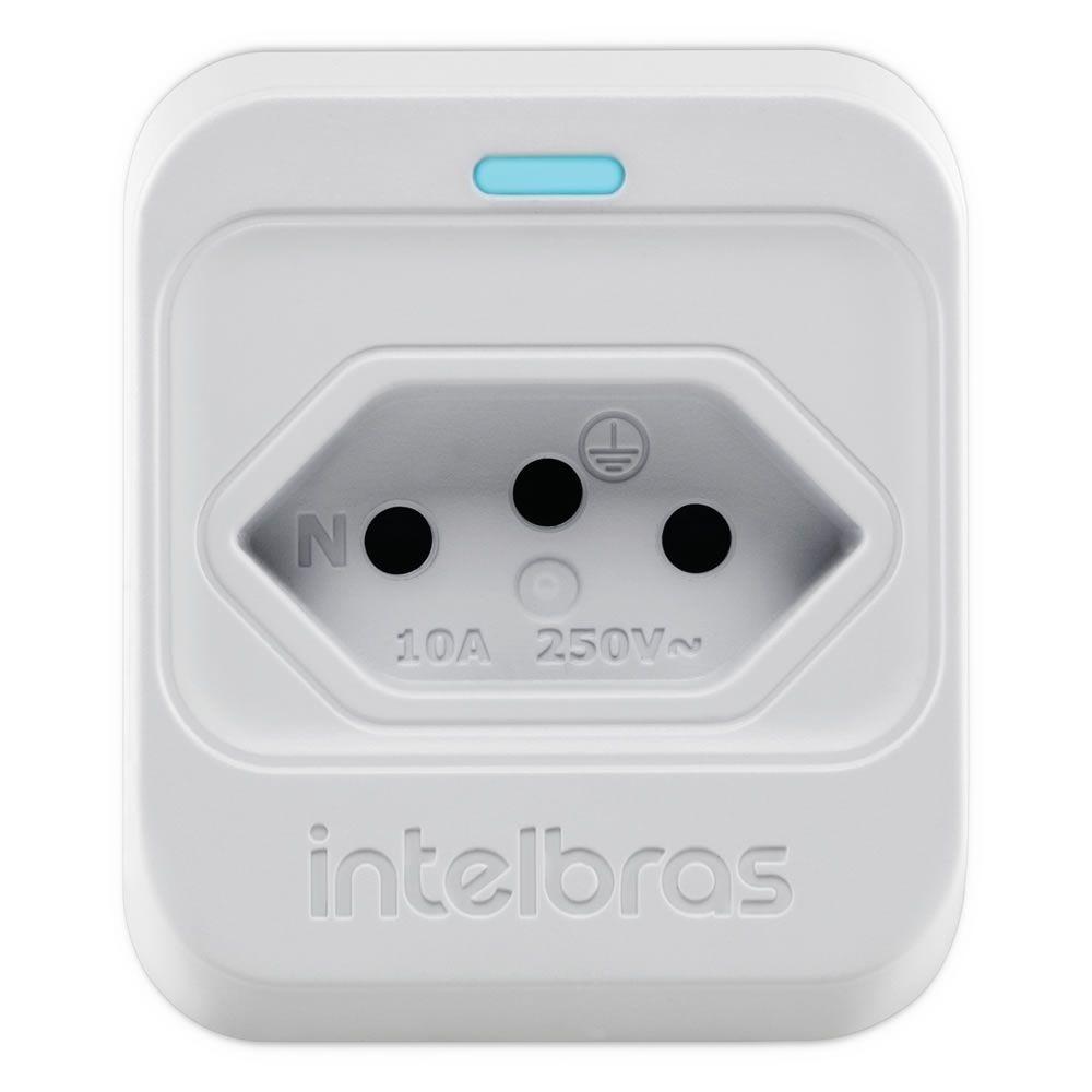 Dispositivo de Proteção Elétrica Plugue 2P + T EPS 301 Branco Intelbras