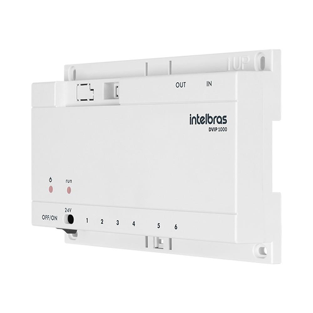 Distribuidor De Vídeo Ip Intelbras DVIP 1000
