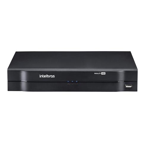 DVR Stand Alone 04 Canais 1080P LITE MULTI HD MHDX 1104 + HD 1 TB Purple Intelbras