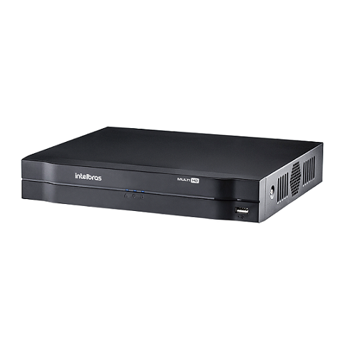 DVR Stand Alone 08 Canais 1080P LITE MULTI HD MHDX 1108 + HD 3 TB Purple Intelbras