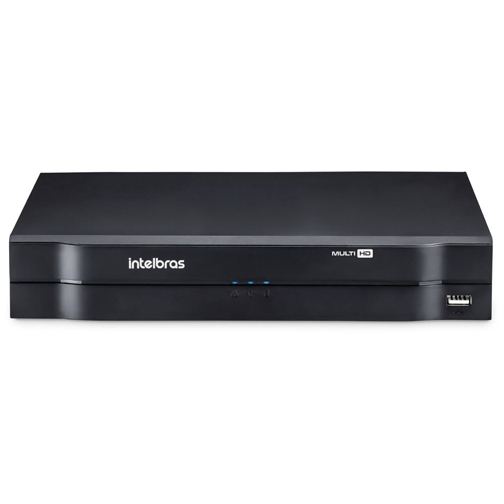 Dvr Stand Alone 08 Canais Multi Hd Mhdx 1008 Intelbras