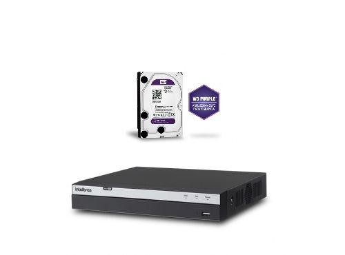 Dvr Stand Alone 8 Canais Multi HD MHDX 3008 + HD 3 TB Western - Intelbras