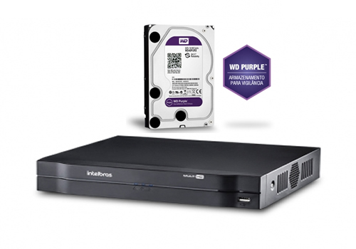 Dvr Stand Alone 16 Ch Multi Hd + HD 4 TB Mhdx 1016 Intelbras