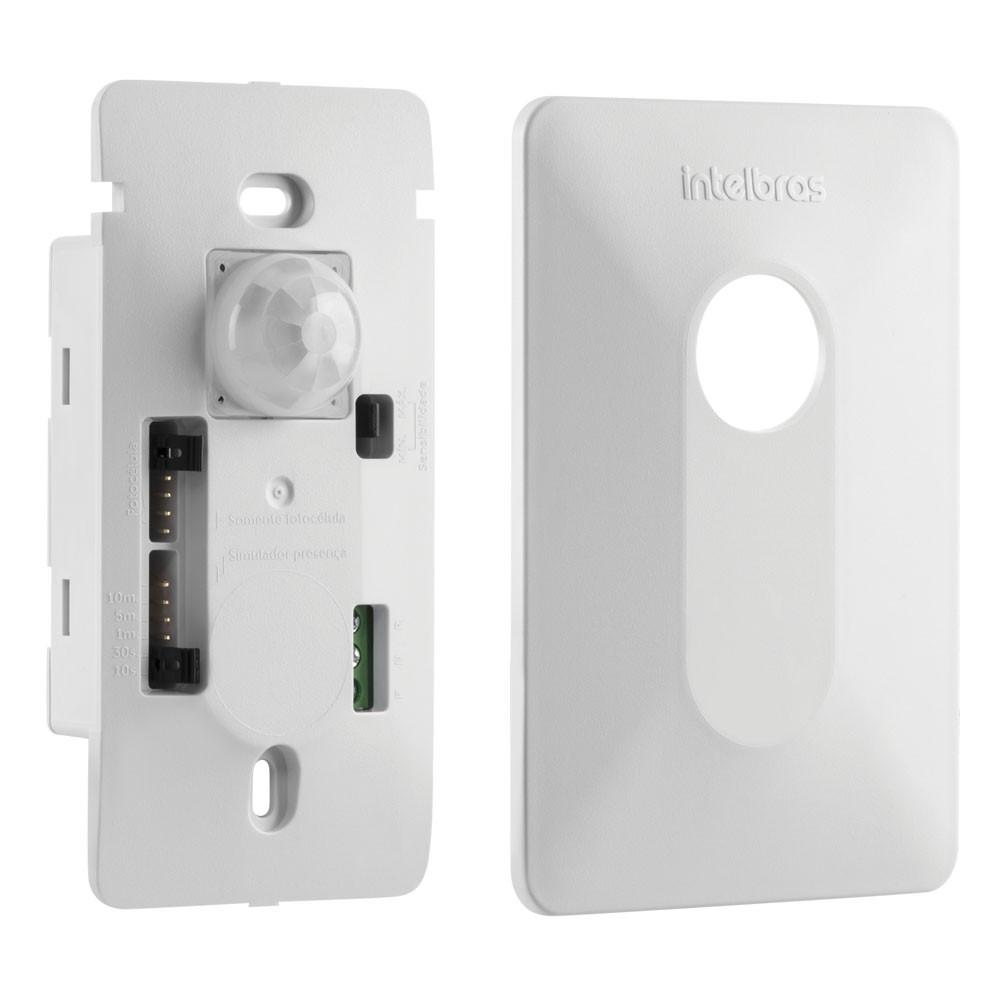 Sensor de Presença para Iluminação 120° Embutir 4x2 ESPI 180 E Intelbras