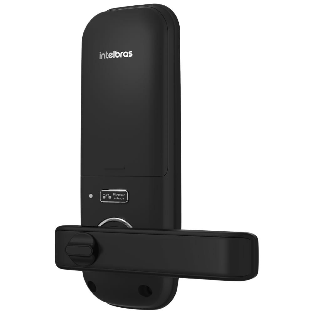 Fechadura Digital Sem Fio Embutir Senha e Tag FD 3000 Intelbras