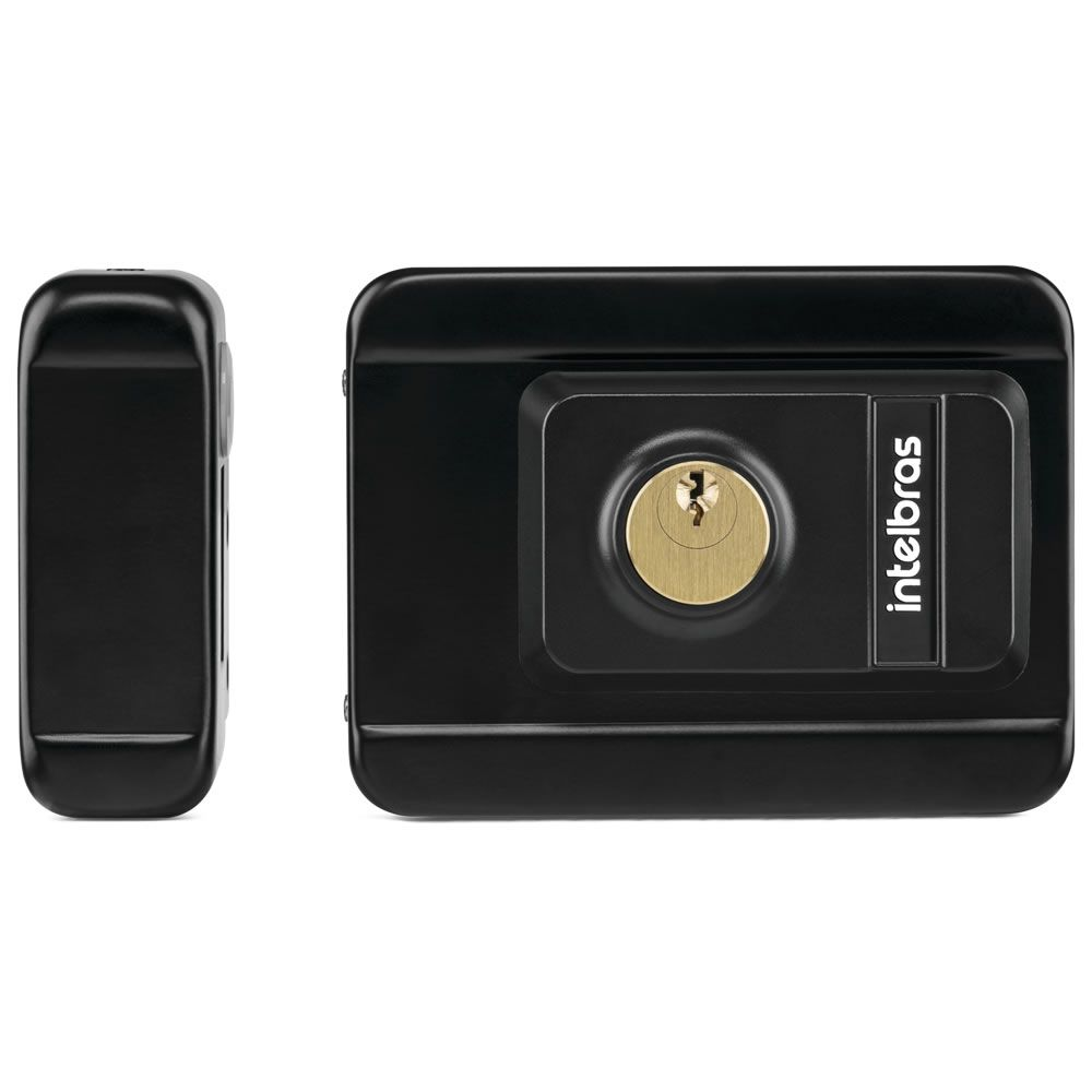 Fechadura Elétrica Com Leitor de Tag RFID FX 3000 MF Intelbras