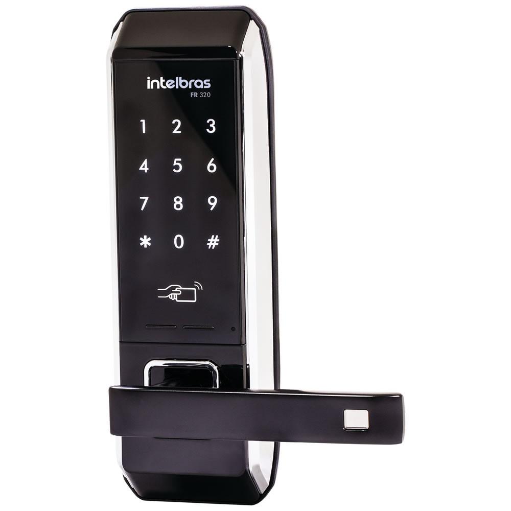 Fechadura Eletrônica Digital Touch Screen Fr 320 Intelbras
