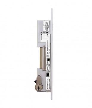 Fechadura Solenoide 1.200 kgf Com Chave FS 1010 Automatiza