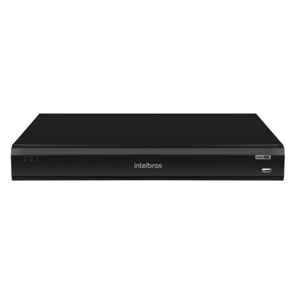 Gravador Digital DVR 08 Canais 4K Multi HD Inteligência Artificial iMHDX 5008 Intelbras