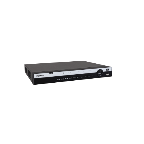 Dvr Stand Alone Multi HD 16 Canais 4K Ultra HD MHDX 5116 Intelbras