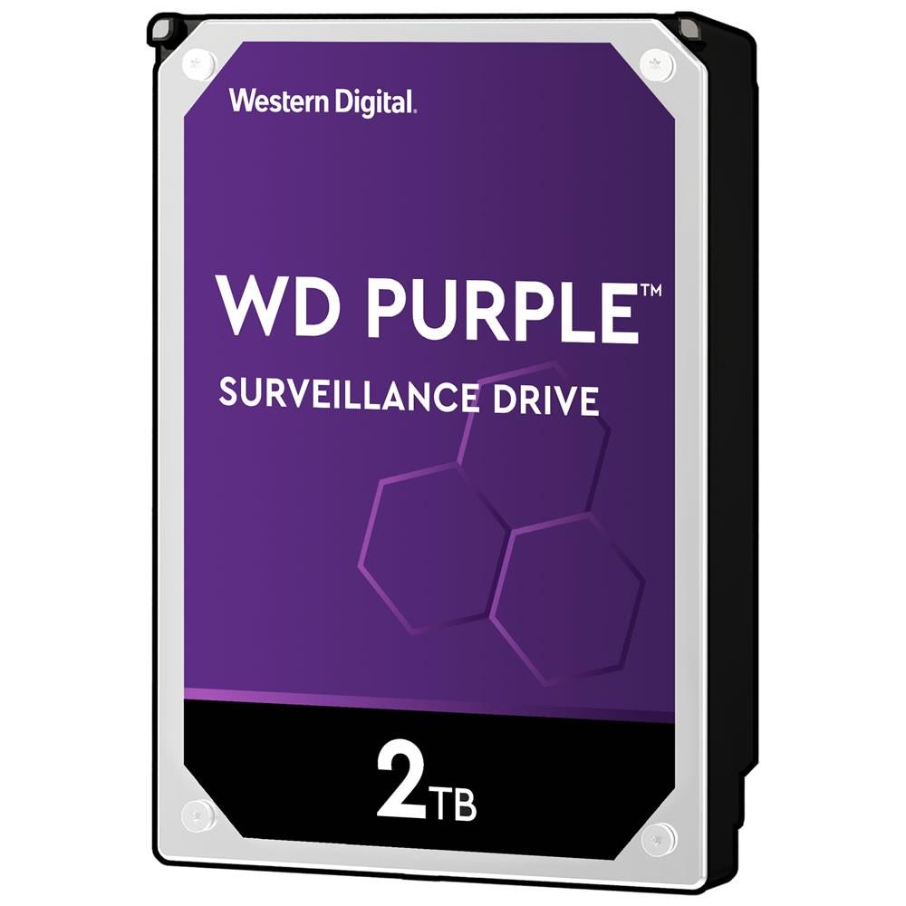 Hd Interno Wd Purple Sata 2 Teras WD20PURZ Intelbras