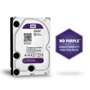 Hd Interno Wd Purple Sata 8 Teras Intelbras