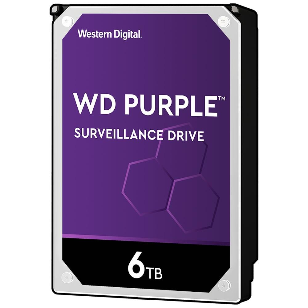 Hd Interno Wd Purple Sata 6 Teras WD60PURZ Intelbras